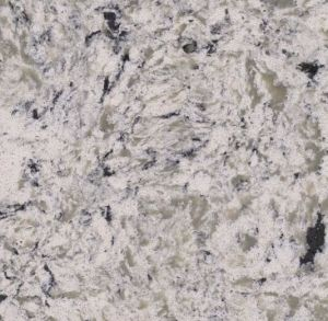 Double Color Texture Countertop Quartz Stone Slab pictures & photos