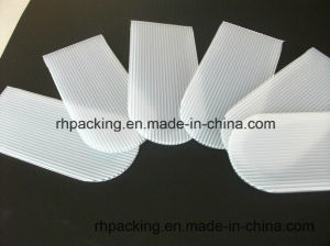 Transparent or White Polypropylene Corrugated Sheet PP Flute Plate/Using at Solar Machine pictures & photos