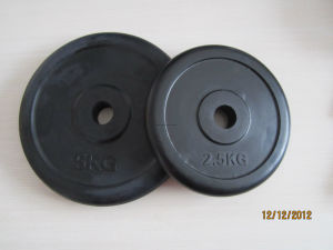 Rubber Color Bumper Weight Plate Barbell, Weight Dumbbell (USH-702) pictures & photos