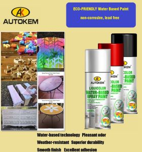 Water-Based Aerosol Paint, Water Based Spray Paint, Low Odor, Non Toxic pictures & photos