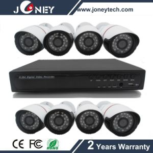 Waterproof IP Poe Camera H. 264 8CH Poe NVR Kit pictures & photos