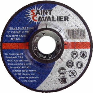Flat Cutting Wheels for Metal - 125X3.0X22.2 pictures & photos