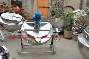 Stainless Steel Jacketed Kettle Cooking Pot for Jam pictures & photos