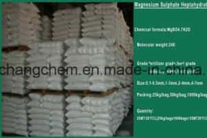 China Manufacture Granular Magnesium Sulphate pictures & photos