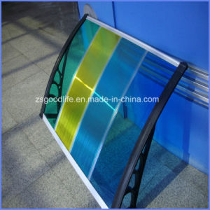 High Quality Elegant DIY Polycarbonate Aluminium Canopy for Balcony pictures & photos