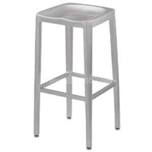 Restaurant Navy Chair, Aluminum/Alloy Counter Stool (DC-06105B) pictures & photos