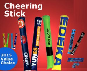 Custom Promotion PE Inflatable Cheering Stick pictures & photos