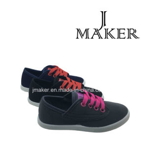 Comfortable Woman Shoe with Canvas Upper (JM2007-L)