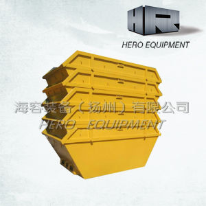 6cbm Steel Waste/Skip/Rubbish/Trash/Dust Bin (with door) pictures & photos