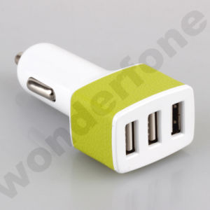 Double USB Car Mobile Charger From China pictures & photos