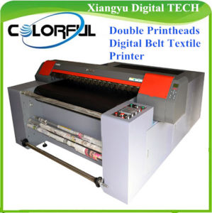 Digital Belt Textile Printer Machine with Epson Dx7 Double Printheads 1.8m (Colorful 1820)
