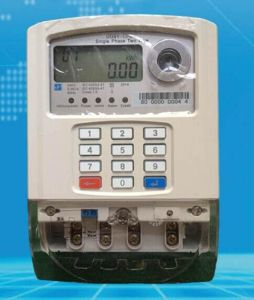 Sts Single Phase Prepaid Electric Meter pictures & photos