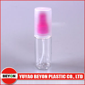 Empty 50ml Round Plastic Pet Bottle with Sprayer and Cap