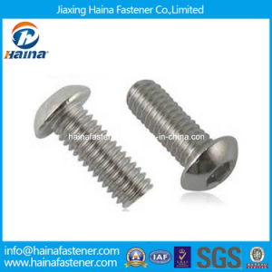 Stock ISO7380 Stainless Steel Socket Button Head Machine Screw pictures & photos