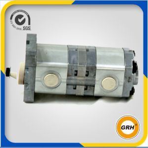 Aluminum Tandem Hydraulic Gear Oil Pump pictures & photos
