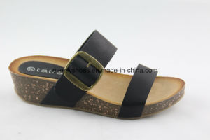 2016 Flat Shoes Sandal Women Slippers for Indoors pictures & photos