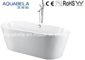 American Style Wide Rim Freestanding Bathroom Bath Tub (JL603) pictures & photos