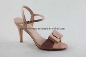Lovely Bowknot Women Sexy Shoes High Heel Sandal pictures & photos
