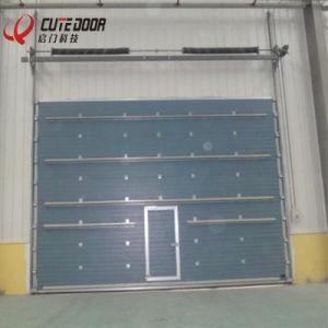 Workshop Overhead Auto Control Vertical Lifting Sectional Industrial Door & China Workshop Overhead Auto Control Vertical Lifting Sectional ...