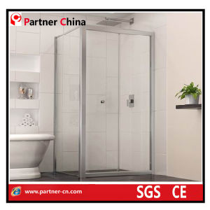 Aluminum Frame L-Shape Sliding Shower Enclosure (MD1232) pictures & photos