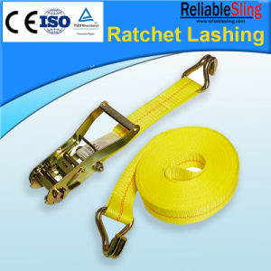 Auto, Motorcycle Rigging Cargo Belt Ratchet Cargo Lashing pictures & photos