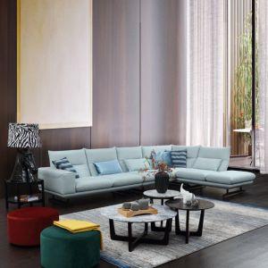 Modern New Design Fabric Corner Sofa Living Room Furniture
