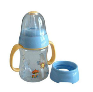 Wide Diameter for Easier Cleaning and Filling Plastic Baby′s Bottle pictures & photos