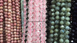 Natural Gemstone Crystal Fancy Faceted Loose Bead pictures & photos
