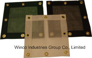 Polyethylene Mesh Panels (WITH Webbing Border and Grommets) Customs Debris Netting pictures & photos
