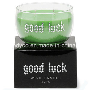 Two Wicks Scented Soy Candle in Glass