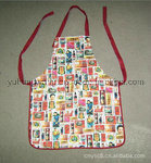 Lady Beautiful PVC Printed Kitchen Work Apron