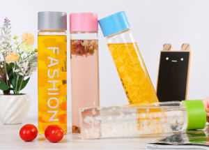 China Stylish Wholesale Voss Water Glass Bottle / Color