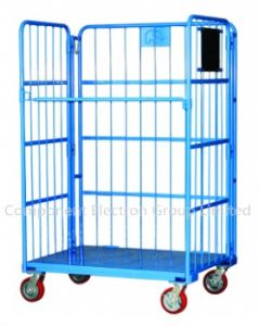 Logistic Cart and Storage Container Cage, Mesh Roll Container pictures & photos