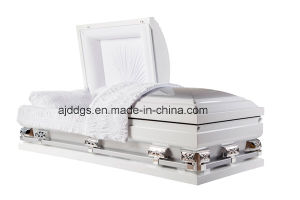White and Silver Casket (Oversize)