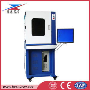 Herolaser High-Speed Fiber Laser Engraving Machine with Hermetic Workstation