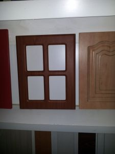 Good Quality Modular Kitchen Cabinet with PVC Blister Doors pictures & photos