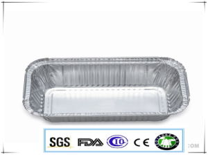 Aviation Catering Light Weight Fast Food Aluminum Foil Tableware pictures & photos