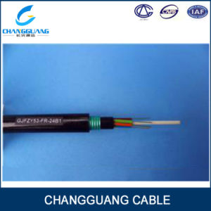 China Manufacturer Gjfzy53-Fr G652D Fire Resistant Fiber Optic Cable