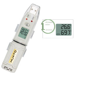 Reusable USB Interface Temperature and Rh Humidity Data Logger