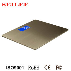 Stainless Steel Electronic Bathroom Scale with Big Platform pictures & photos