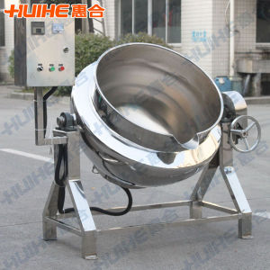Electric Heating Tilting Jaketed Kettle (Cooker Without Mixer) pictures & photos