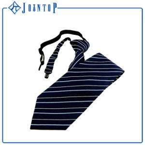 Fashion Design Customized Uniform Fancy Zipper Neck Tie pictures & photos