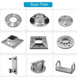 China Stainless Steel Railing Accessories Handrail Fitting ...