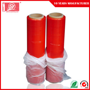 Dustproof Waterproof 70-80gauge Corloful LLDPE Stretch Film Clear Film Packing Film pictures & photos