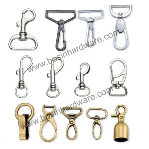 Alloy Metal Bag Snap Hook with Swivel Ring pictures & photos