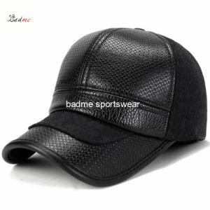 465b813be8b28 China Mens Synthetic Leather Earmuffs Winter Baseball Cap - China PU ...