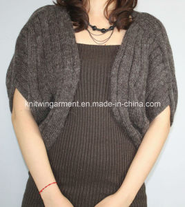 Women V Neck Cardigan Sweater by Knitting (12AW-219) pictures & photos