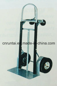 China Manufacture Folding Stainless Steel Hand Trolley pictures & photos