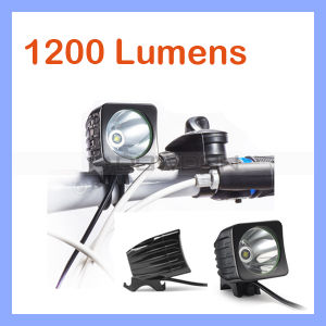 1200lm 1X CREE Xm-L T6 LED Headlamp Rechargeable Bicycle Light Bike Lamp pictures & photos