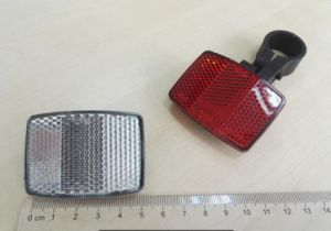 Hot Sale Front/Rear /Spoke Reflex Reflector for Bicycles Kb-101 pictures & photos